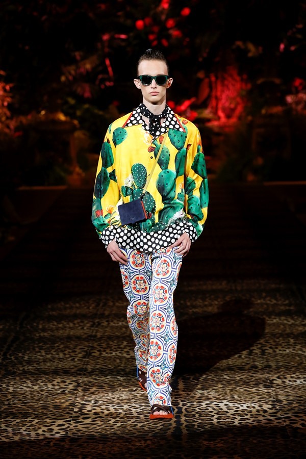 Dolce&Gabbana Men's Fashion Show Spring-Summer 2020 (120)