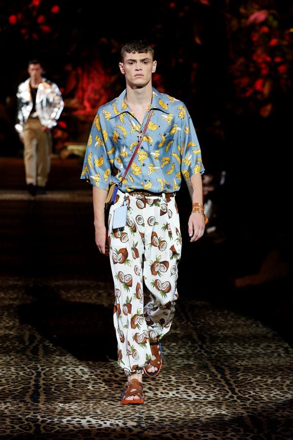 Dolce&Gabbana Men's Fashion Show Spring-Summer 2020 (14)
