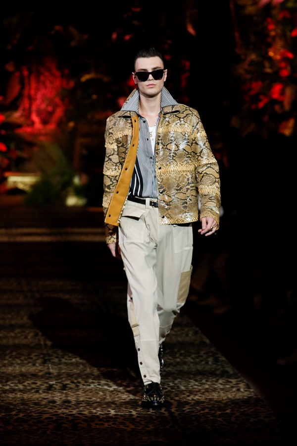Dolce&Gabbana Men's Fashion Show Spring-Summer 2020 (17)