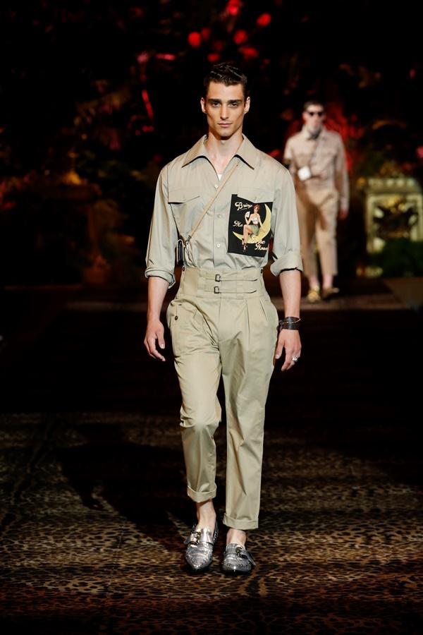 Dolce&Gabbana Men's Fashion Show Spring-Summer 2020 (2)
