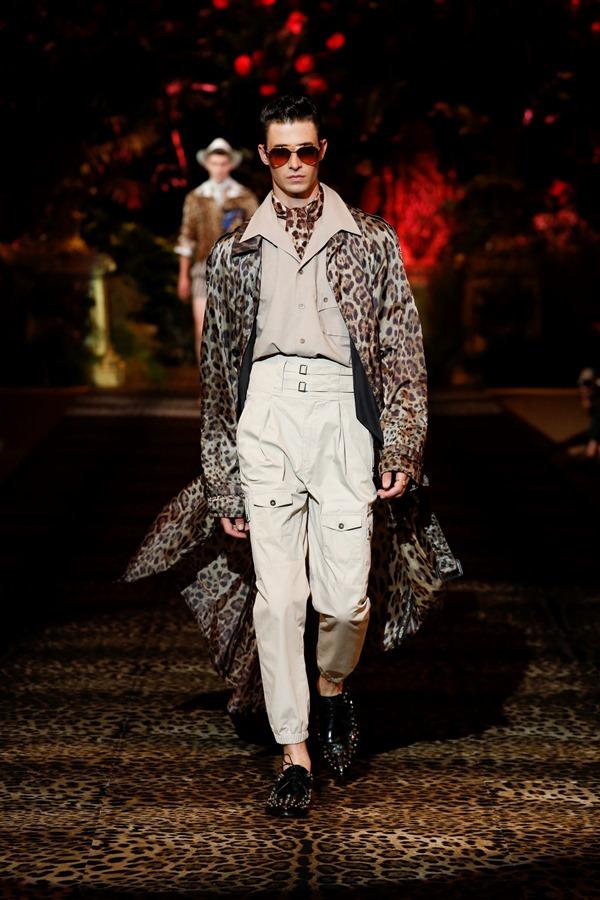 Dolce&Gabbana Men's Fashion Show Spring-Summer 2020 (21)