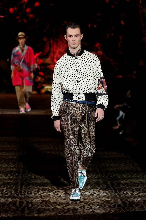 Dolce&Gabbana Men's Fashion Show Spring-Summer 2020 (23)