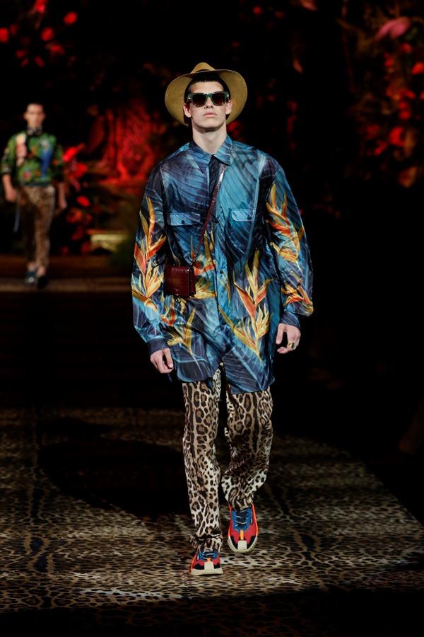 Dolce&Gabbana Men's Fashion Show Spring-Summer 2020 (29)