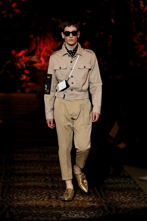 Dolce&Gabbana Men's Fashion Show Spring-Summer 2020 (3)