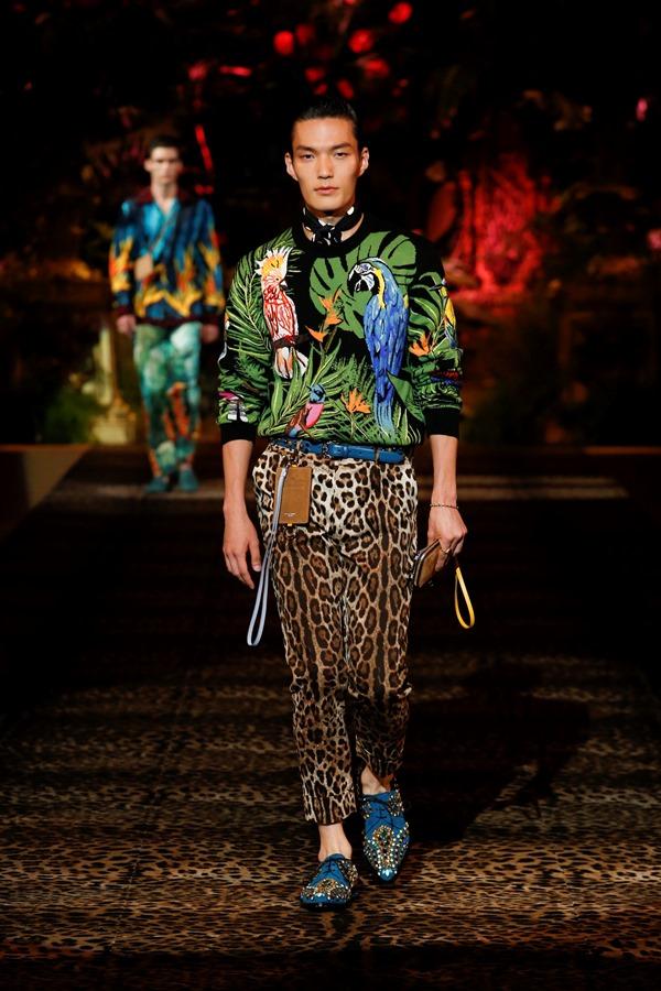 Dolce&Gabbana Men's Fashion Show Spring-Summer 2020 (30)