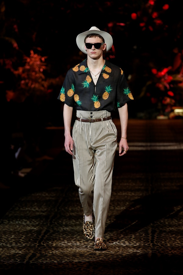 Dolce&Gabbana Men's Fashion Show Spring-Summer 2020 (34)