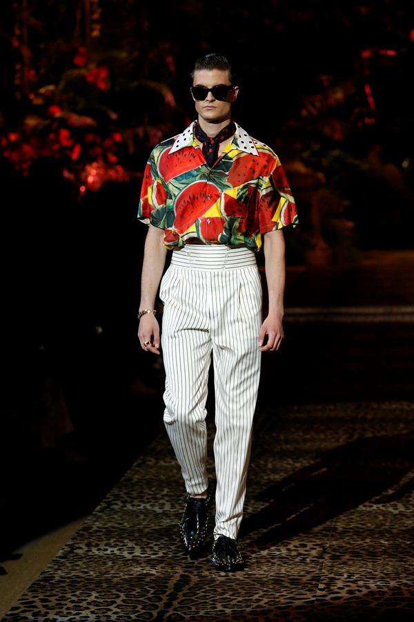 Dolce&Gabbana Men's Fashion Show Spring-Summer 2020 (37)