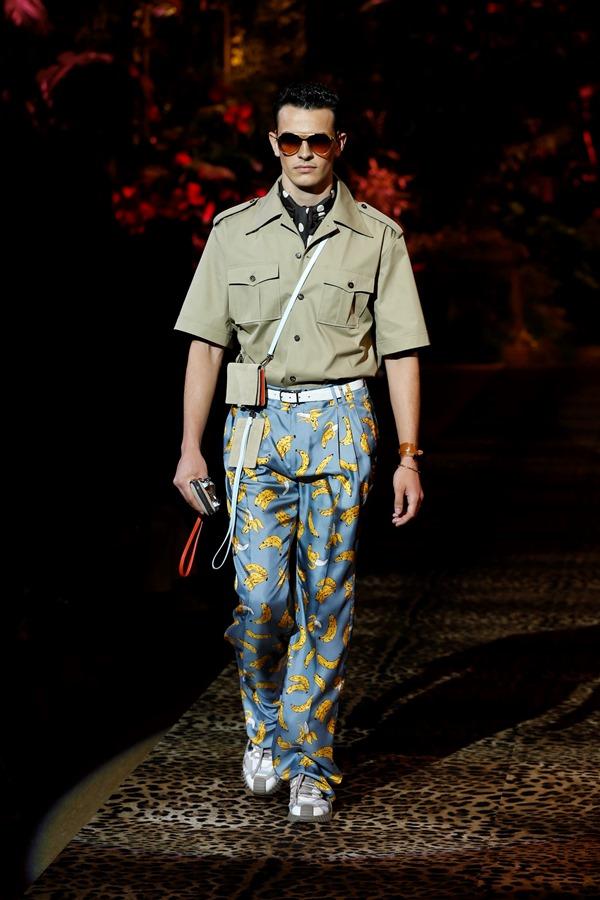 Dolce&Gabbana Men's Fashion Show Spring-Summer 2020 (4)
