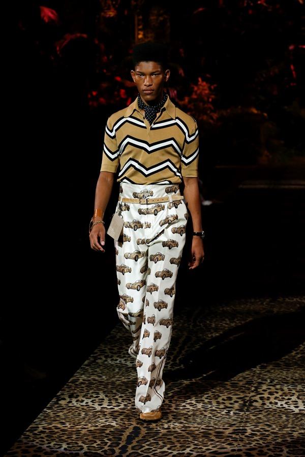 Dolce&Gabbana Men's Fashion Show Spring-Summer 2020 (43)