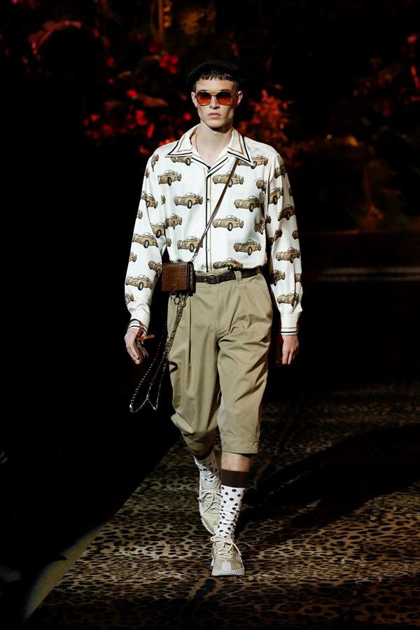 Dolce&Gabbana Men's Fashion Show Spring-Summer 2020 (46)