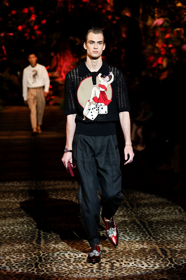 Dolce&Gabbana Men's Fashion Show Spring-Summer 2020 (47)