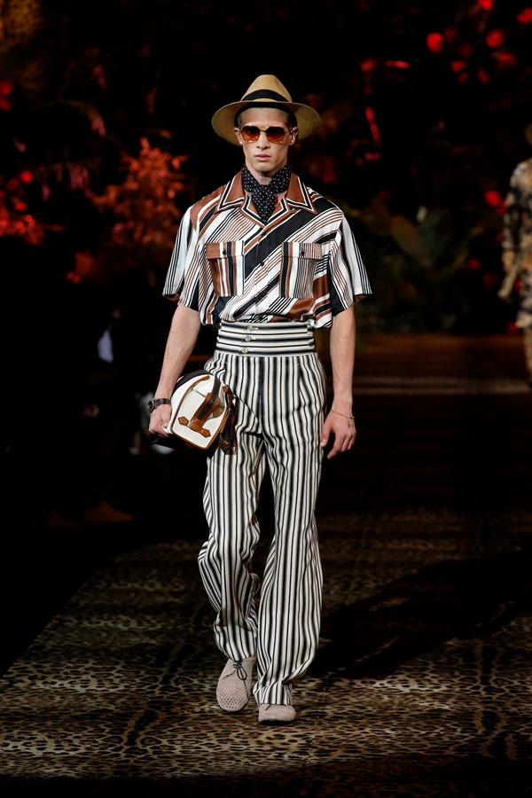 Dolce&Gabbana Men's Fashion Show Spring-Summer 2020 (52)