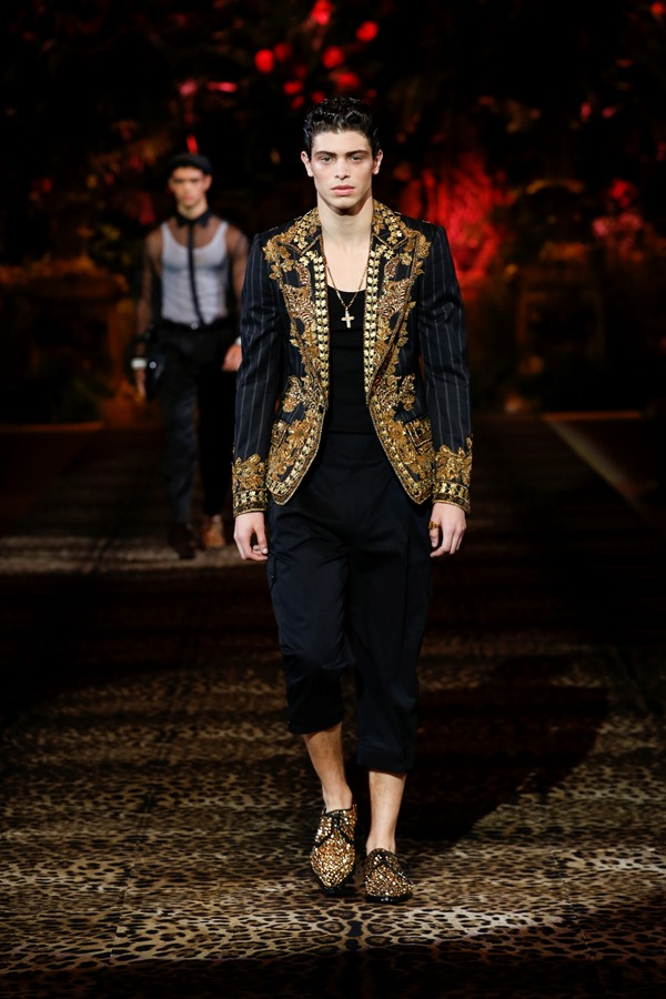 Dolce&Gabbana Men's Fashion Show Spring-Summer 2020 (57)