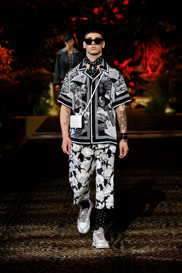 Dolce&Gabbana Men's Fashion Show Spring-Summer 2020 (60)