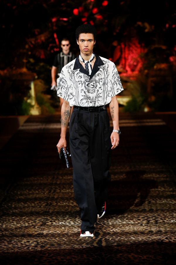 Dolce&Gabbana Men's Fashion Show Spring-Summer 2020 (63)