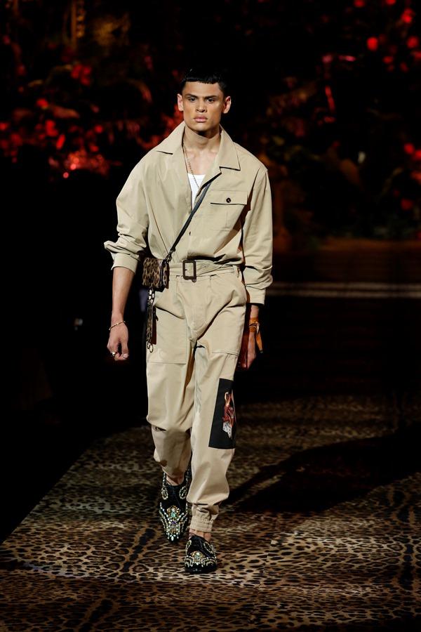 Dolce&Gabbana Men's Fashion Show Spring-Summer 2020 (7)
