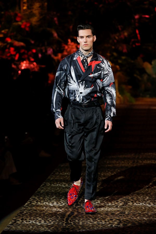 Dolce&Gabbana Men's Fashion Show Spring-Summer 2020 (70)