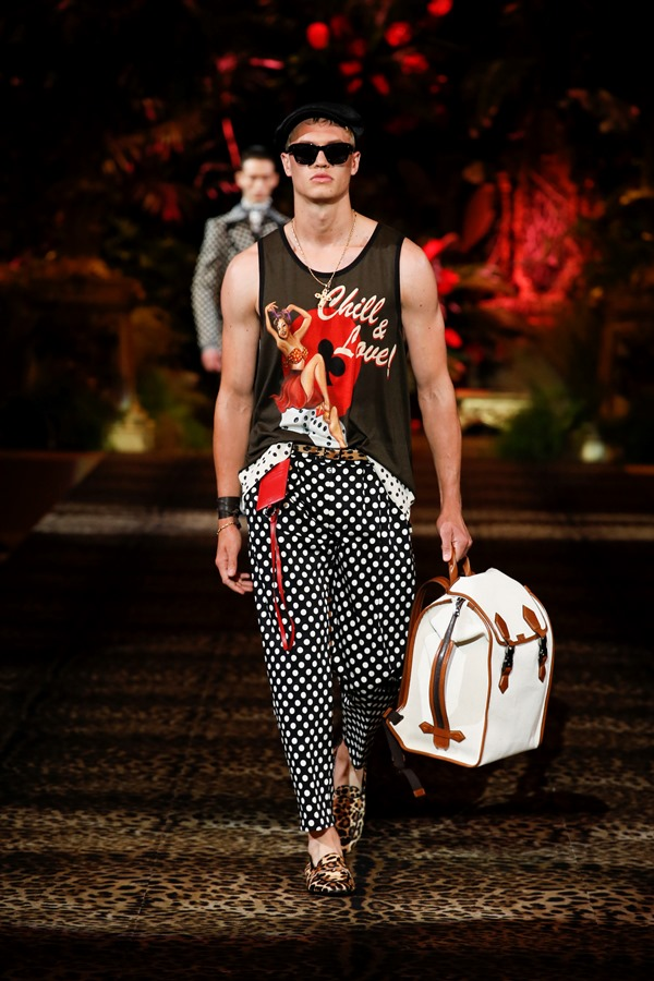 Dolce&Gabbana Men's Fashion Show Spring-Summer 2020 (78)