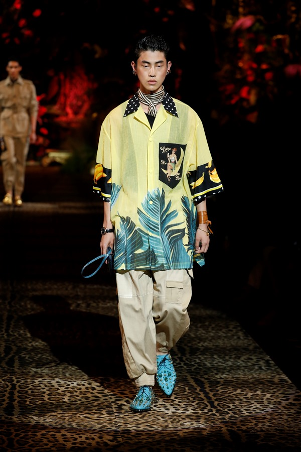 Dolce&Gabbana Men's Fashion Show Spring-Summer 2020 (8)