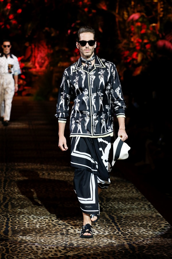 Dolce&Gabbana Men's Fashion Show Spring-Summer 2020 (83)