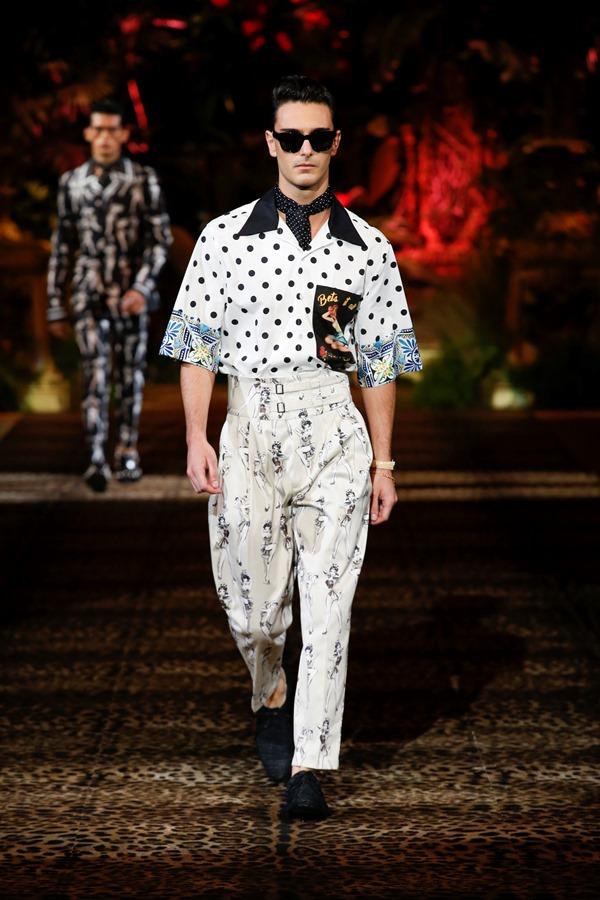 Dolce&Gabbana Men's Fashion Show Spring-Summer 2020 (84)