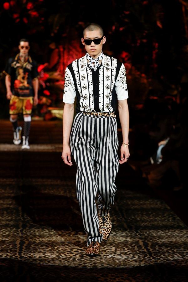 Dolce&Gabbana Men's Fashion Show Spring-Summer 2020 (86)