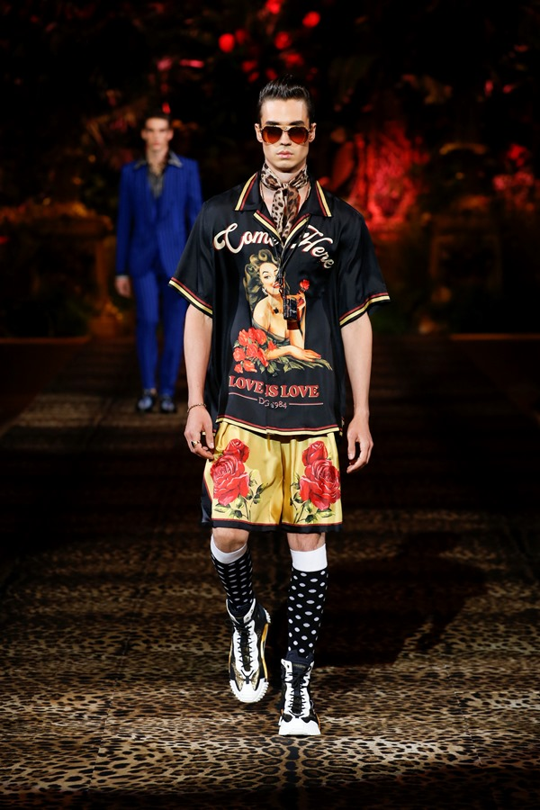 Dolce&Gabbana Men's Fashion Show Spring-Summer 2020 (87)
