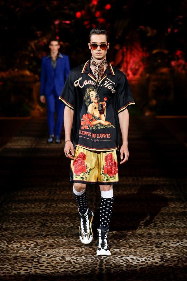 Dolce&Gabbana Men's Fashion Show Spring-Summer 2020 (87)