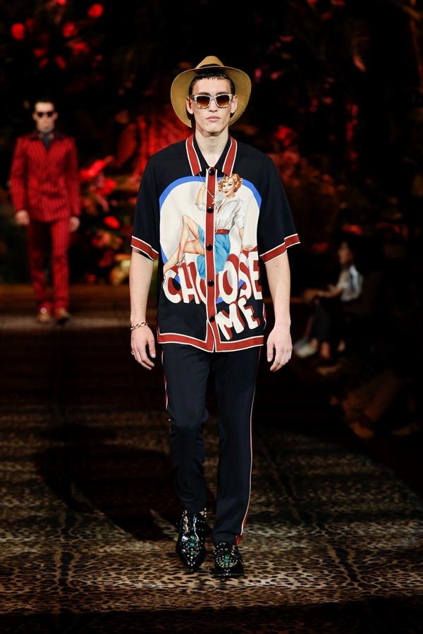 Dolce&Gabbana Men's Fashion Show Spring-Summer 2020 (89)