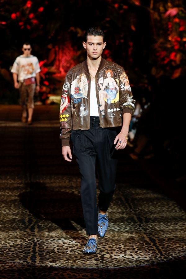 Dolce&Gabbana Men's Fashion Show Spring-Summer 2020 (92)