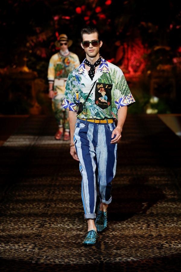Dolce&Gabbana Men's Fashion Show Spring-Summer 2020 (96)