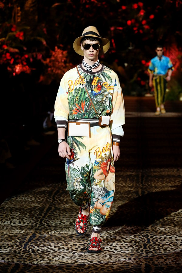 Dolce&Gabbana Men's Fashion Show Spring-Summer 2020 (97)