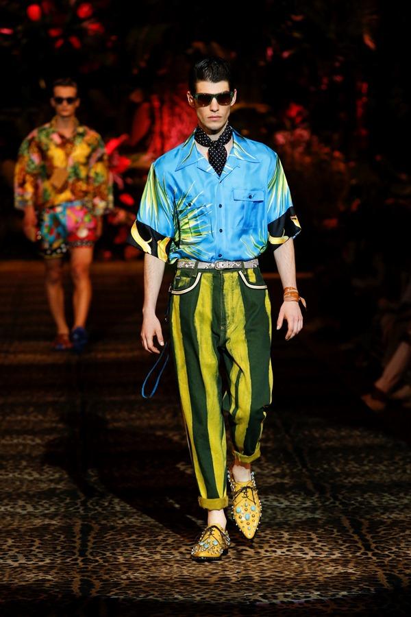 Dolce&Gabbana Men's Fashion Show Spring-Summer 2020 (98)