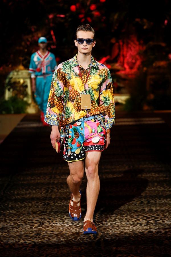 Dolce&Gabbana Men's Fashion Show Spring-Summer 2020 (99)