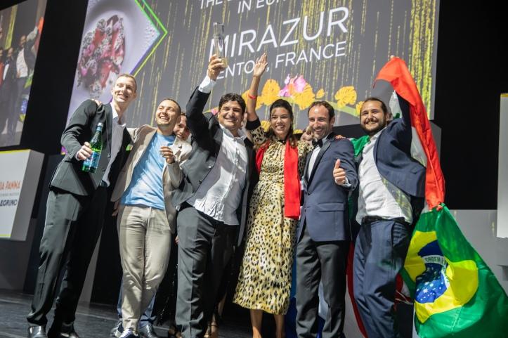 The team behind Mirazur, voted The World's Best Restaurant 2019, sponsored by S.Pellegrino & Acqua Panna.jpg
