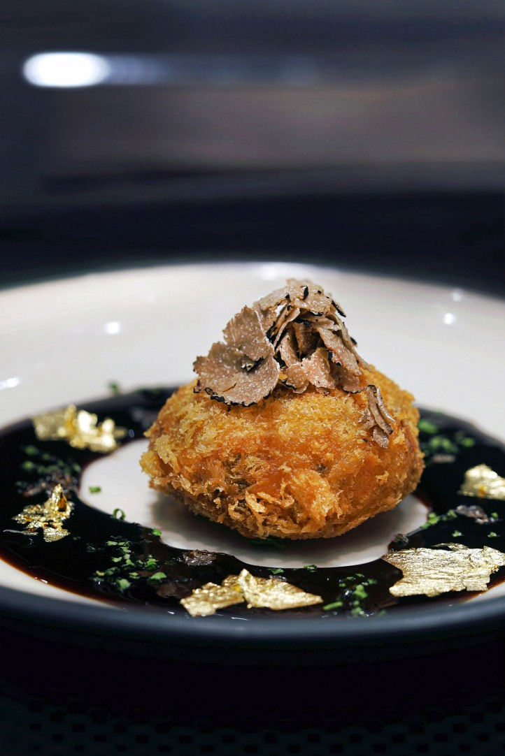 Truffle Croquette with Japanese Balsamico sauce.jpg