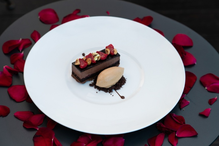 VALRHONA CHOCOLATE TORTE 2