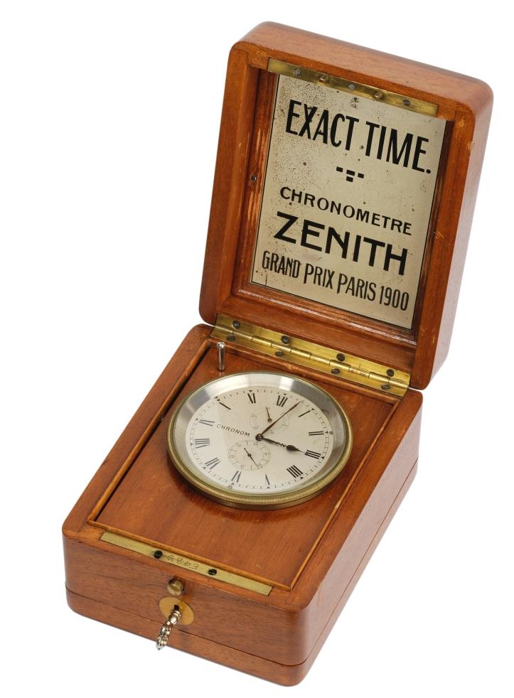 001. Zenith Shop Window Chronometer