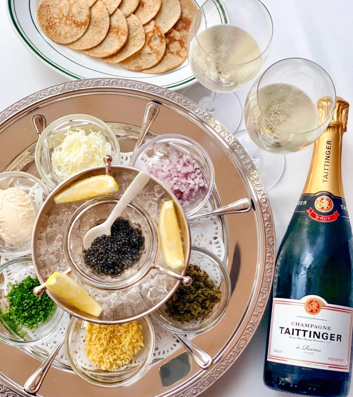 Caviar and Tattinger-3