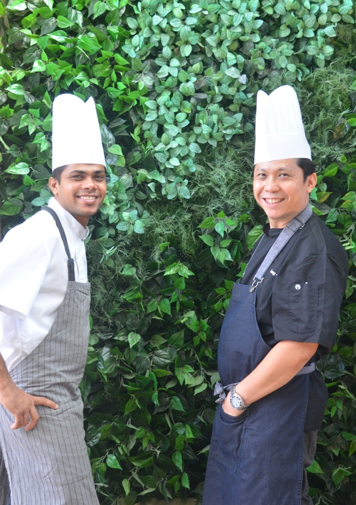 Chef Leong and Chef Ashok