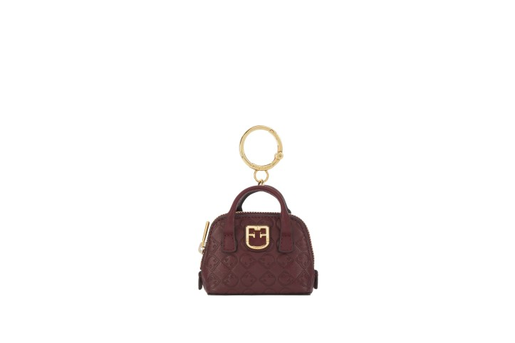 FURLA ICONA KEYRING MINI DOME_RX24_RIBES