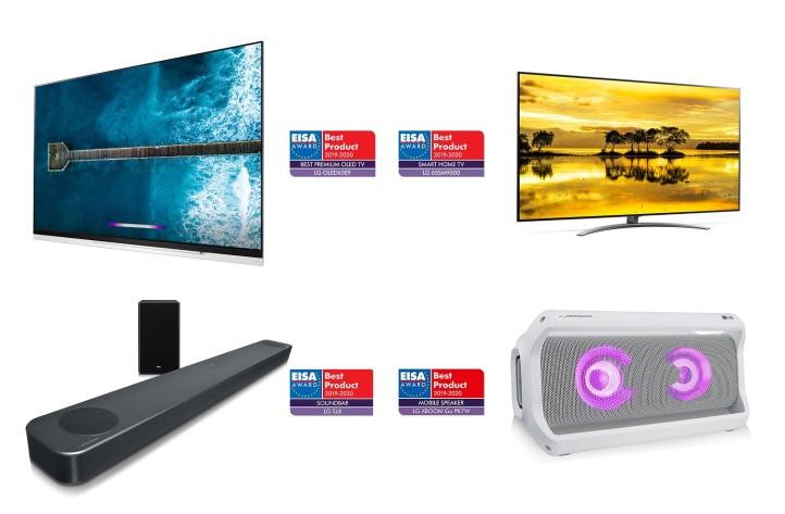 LG Products at EISA Award