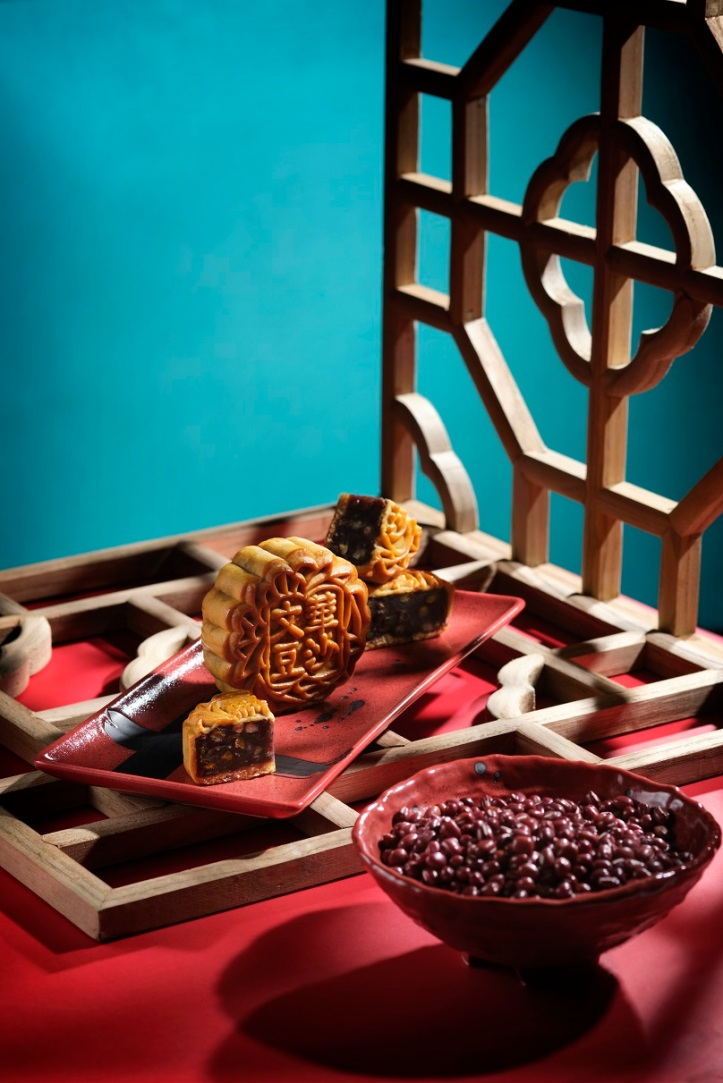 MOS_Mooncake2019-Azuki Red Bean Paste and Pine Nuts