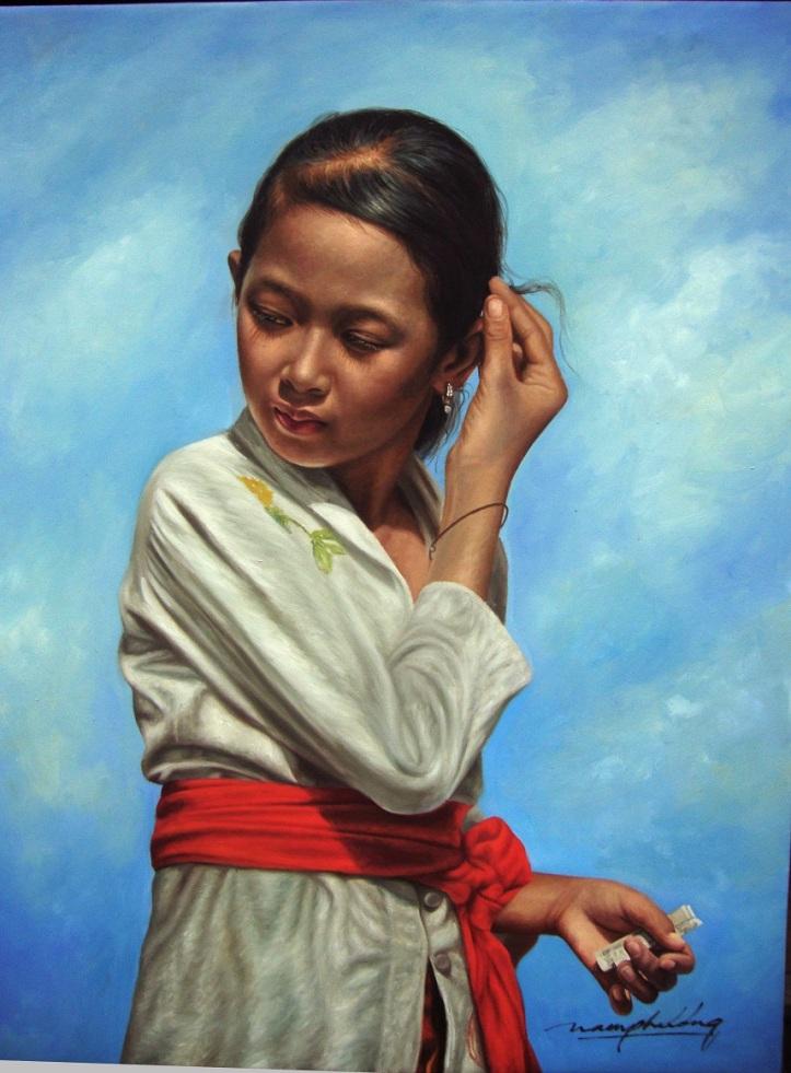 Nam Phuong_A Bali girl