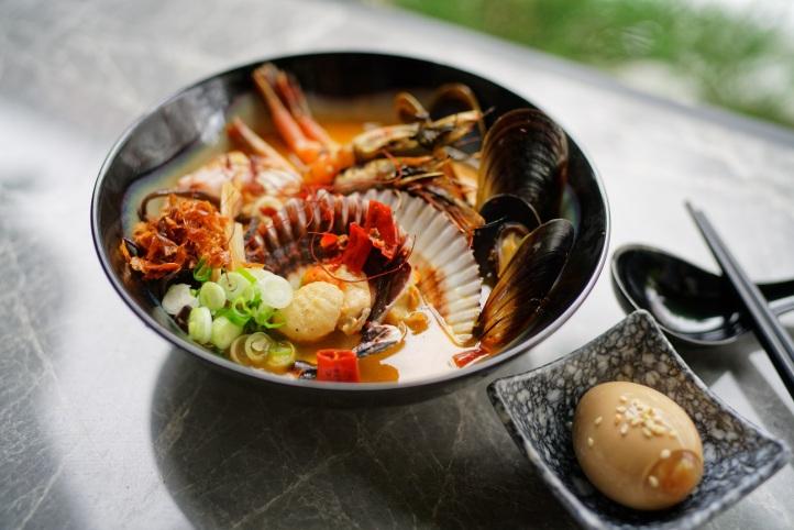 Takeshi Seafood Szechuan Mala Iberico Tonkotsu