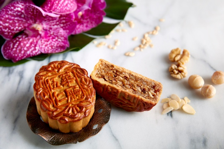 Traditional Baked Mooncake - Seed of Harmony (Assorted Nuts)