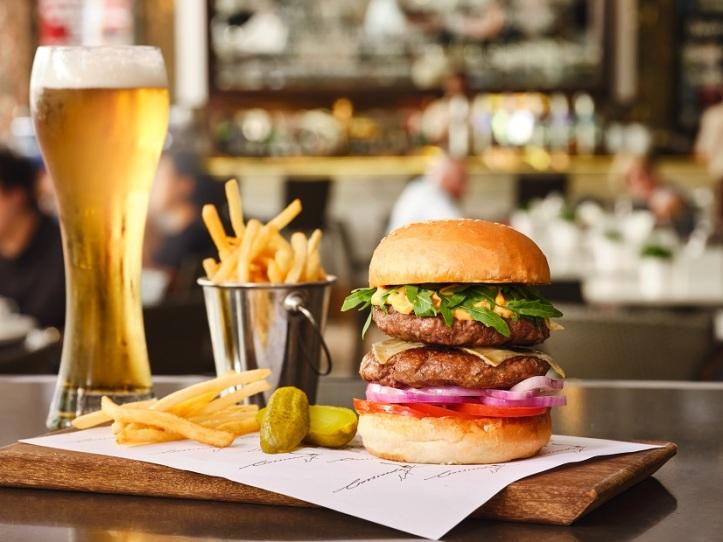 100% Wagyu Beef Burger