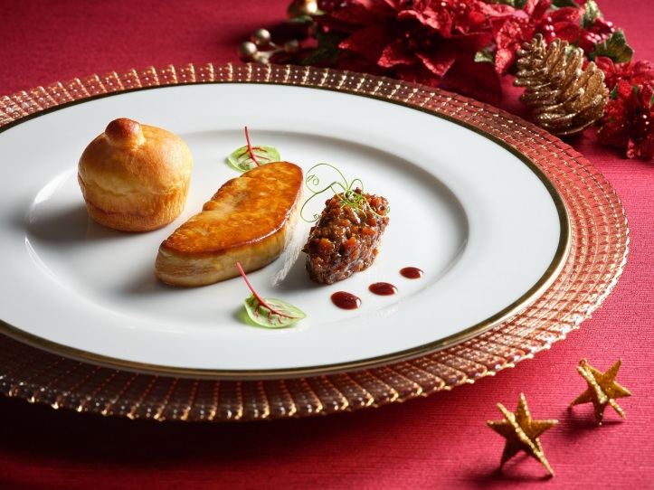 Pan-Fried Duck Foie Gras with Chutney & Relish