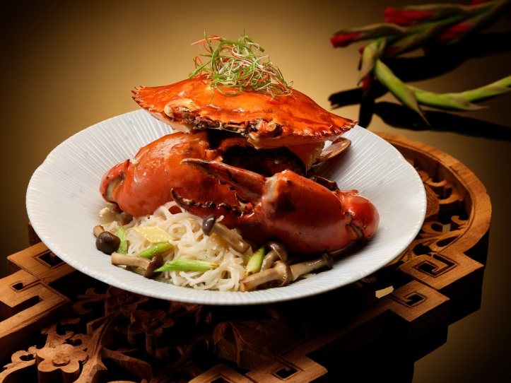 Braised Sri Lankan Crab with Vermicelli and Superior Stock