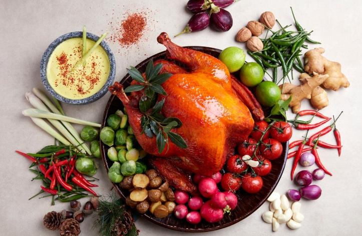 Holiday Inn Singapore Orchard City Centre, Roasted Whole Turkey with Masak Lemak
